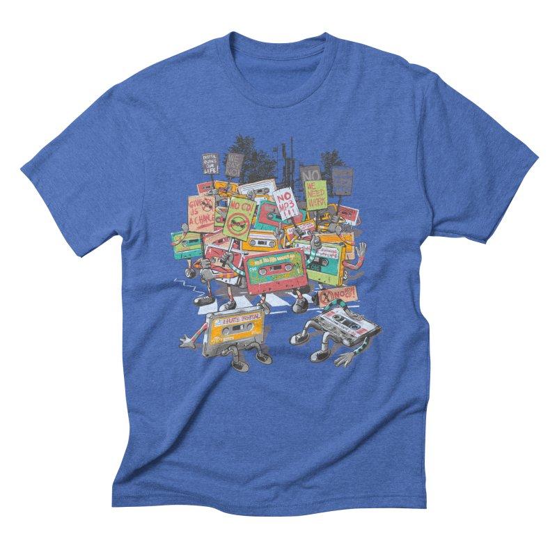 Analog Strike Men's Triblend T-Shirt by Artist Shop
