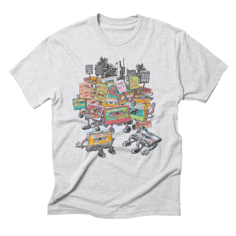 Analog Strike Men's Triblend T-Shirt by Artist Shop