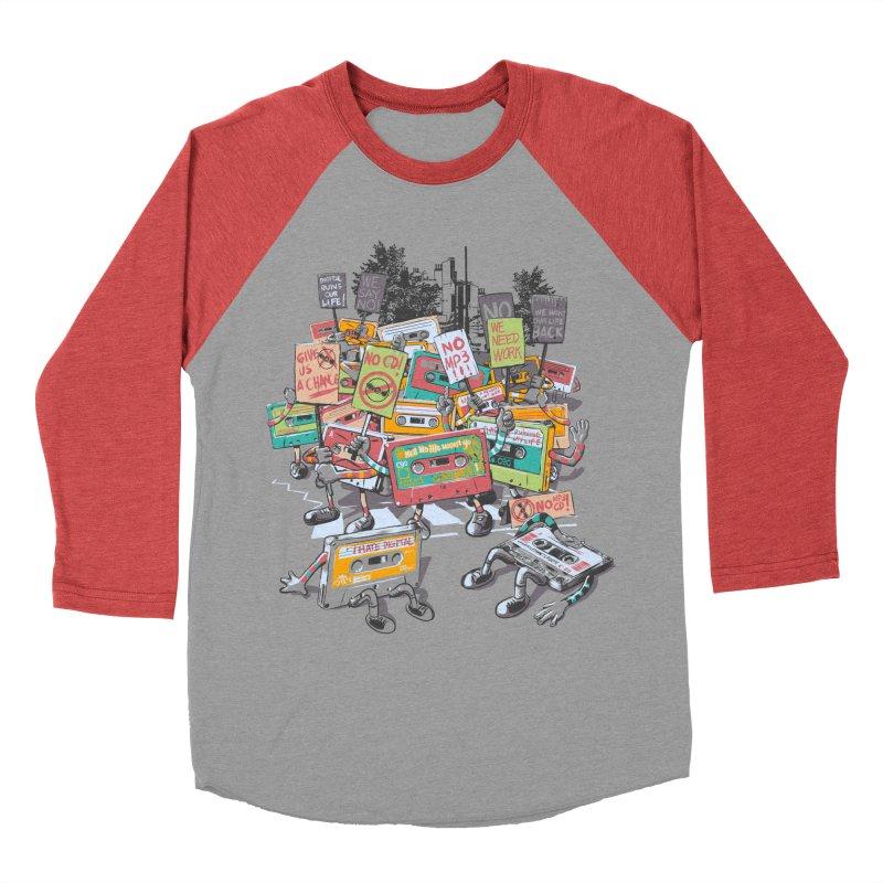 Analog Strike Women's Baseball Triblend Longsleeve T-Shirt by Artist Shop