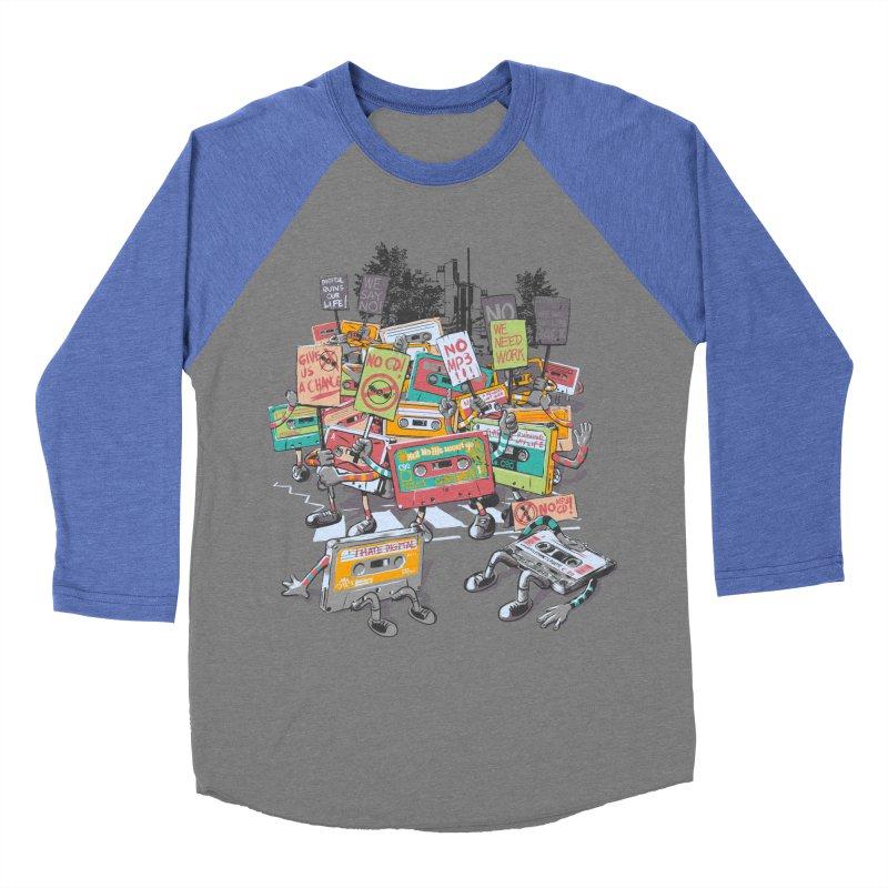 Analog Strike Men's Baseball Triblend T-Shirt by Artist Shop