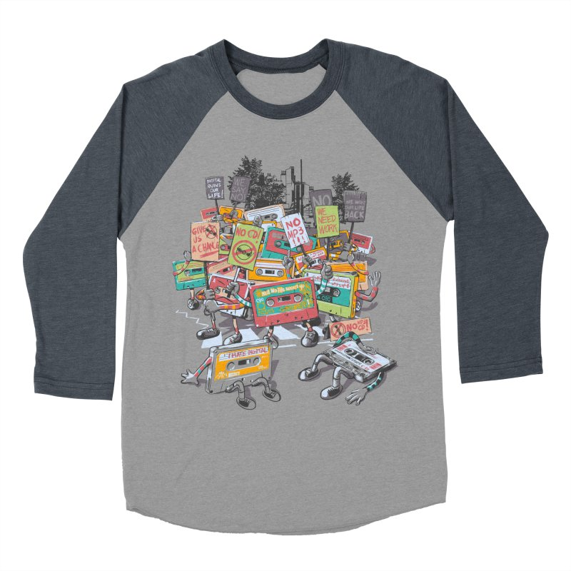 Analog Strike Men's Baseball Triblend Longsleeve T-Shirt by Artist Shop