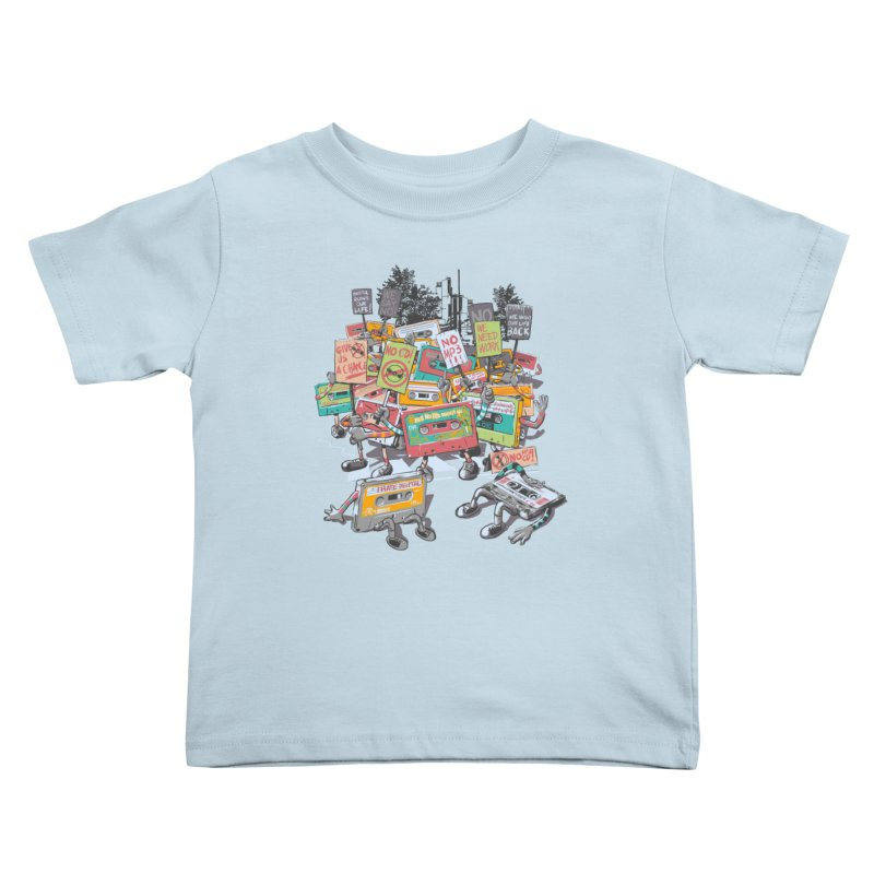 Analog Strike Kids Toddler T-Shirt by Artist Shop