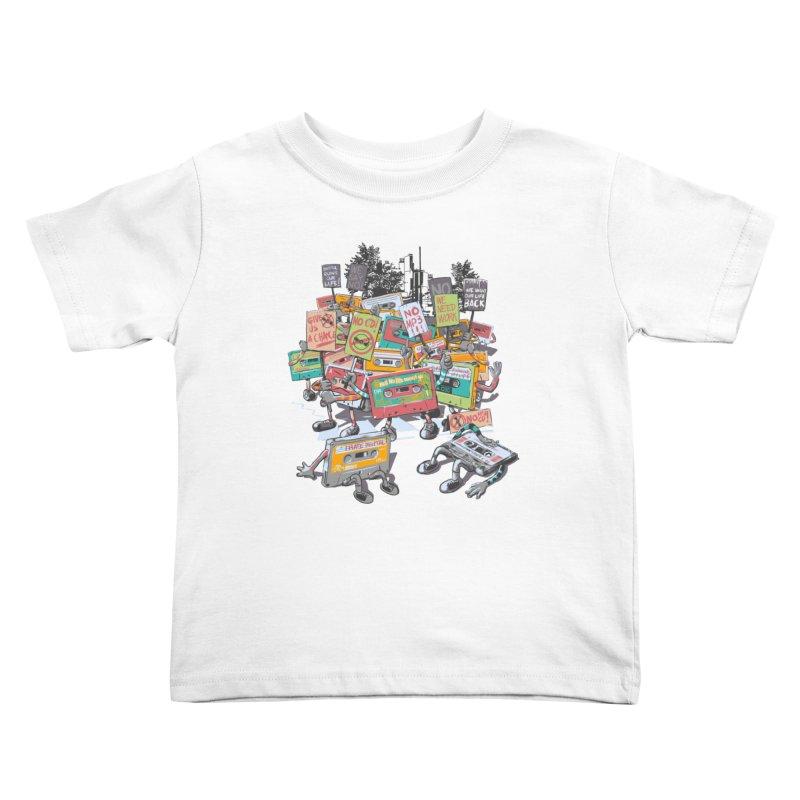 Analog Strike Kids Toddler T-Shirt by Artist Shop