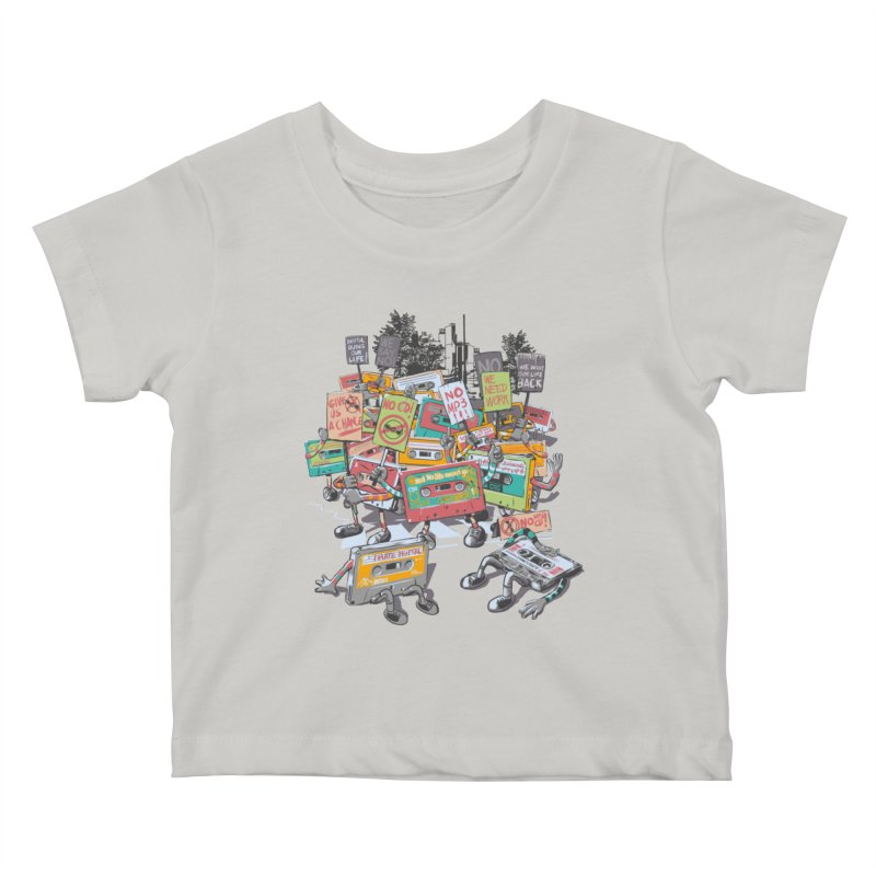Analog Strike Kids Baby T-Shirt by Artist Shop