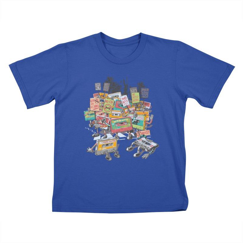 Analog Strike Kids T-Shirt by Artist Shop