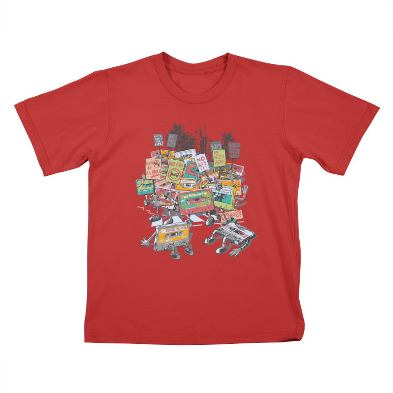 Analog Strike Kids T-Shirt by Artist Shop