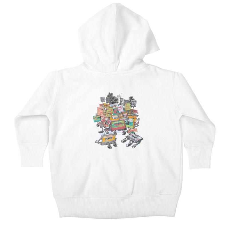 Analog Strike Kids Baby Zip-Up Hoody by Artist Shop