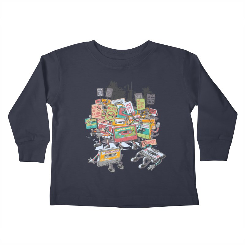 Analog Strike Kids Toddler Longsleeve T-Shirt by Artist Shop