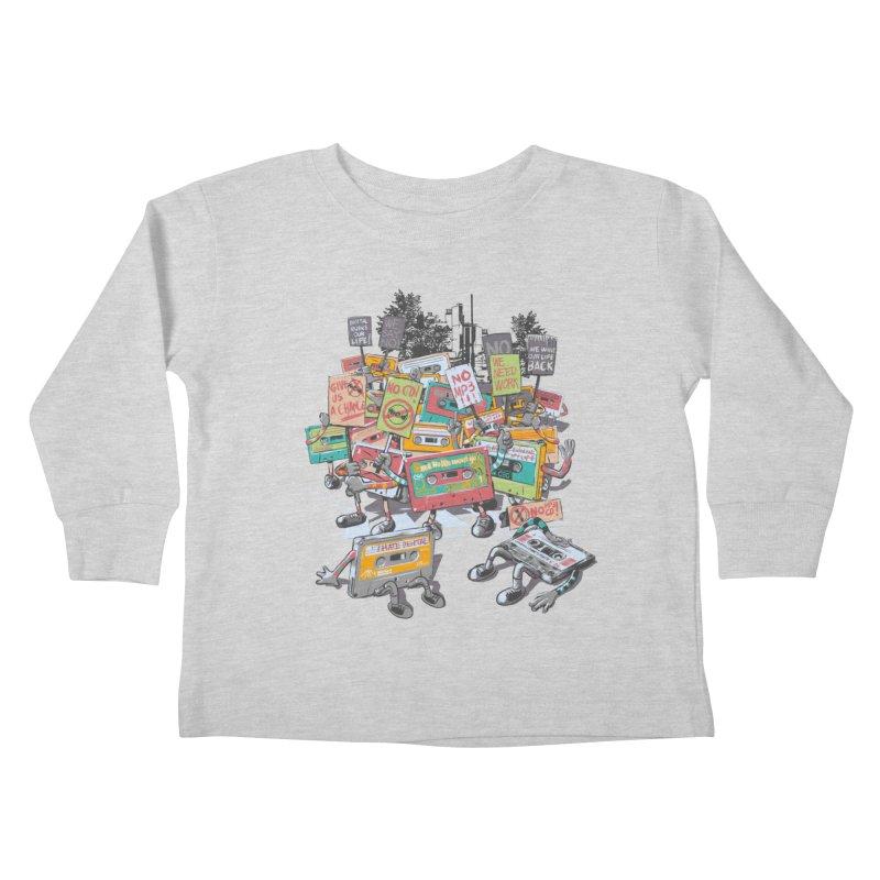 Analog Strike Kids Toddler Longsleeve T-Shirt by Artist Shop