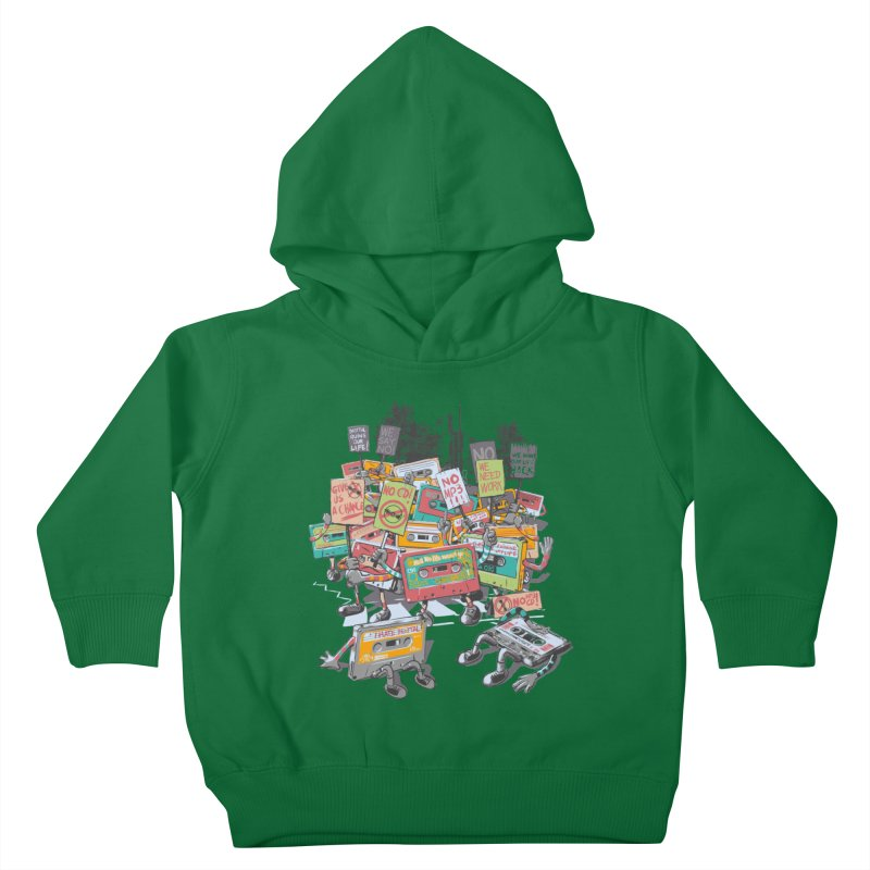 Analog Strike Kids Toddler Pullover Hoody by Artist Shop