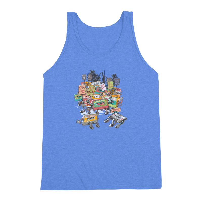 Analog Strike Men's Triblend Tank by Artist Shop