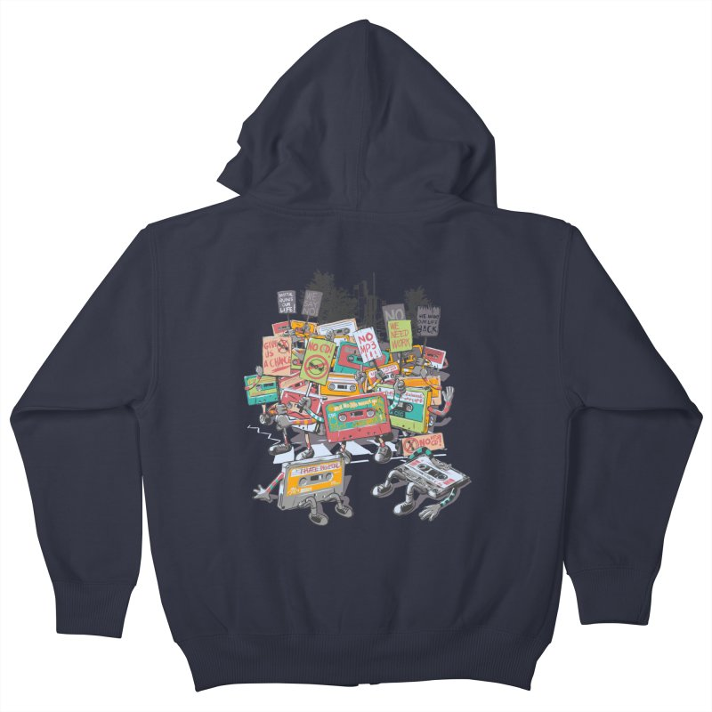 Analog Strike Kids Zip-Up Hoody by Artist Shop