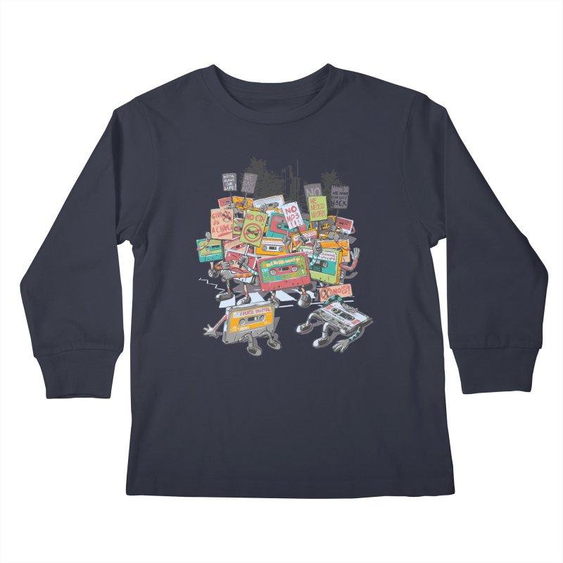 Analog Strike Kids Longsleeve T-Shirt by Artist Shop
