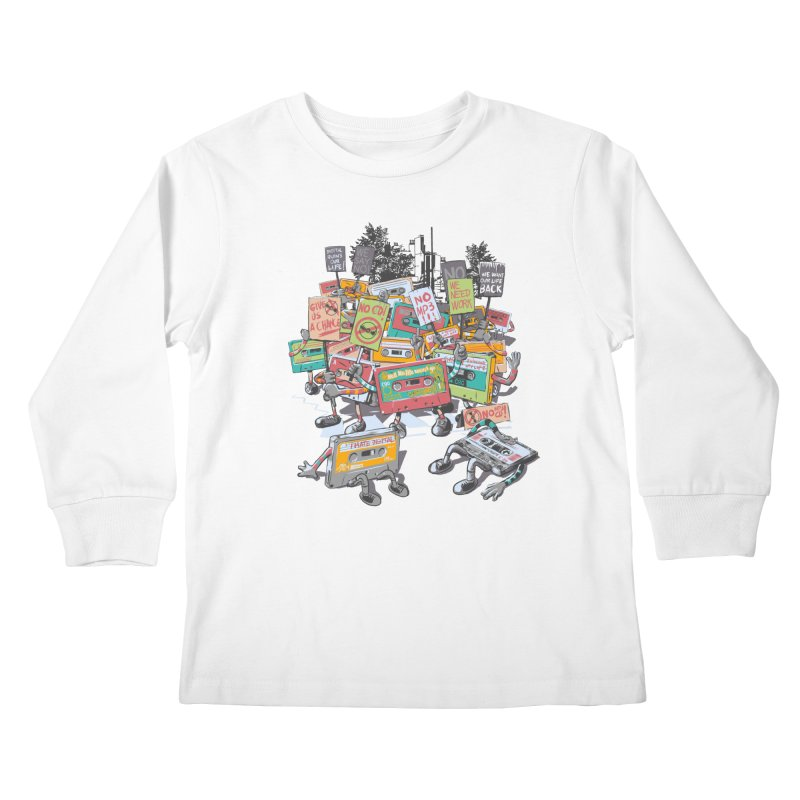 Analog Strike Kids Longsleeve T-Shirt by Artist Shop
