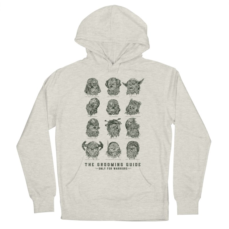The Grooming Guide Women's French Terry Pullover Hoody by Artist Shop