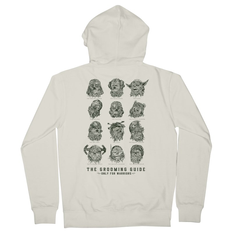 The Grooming Guide Women's French Terry Zip-Up Hoody by Artist Shop