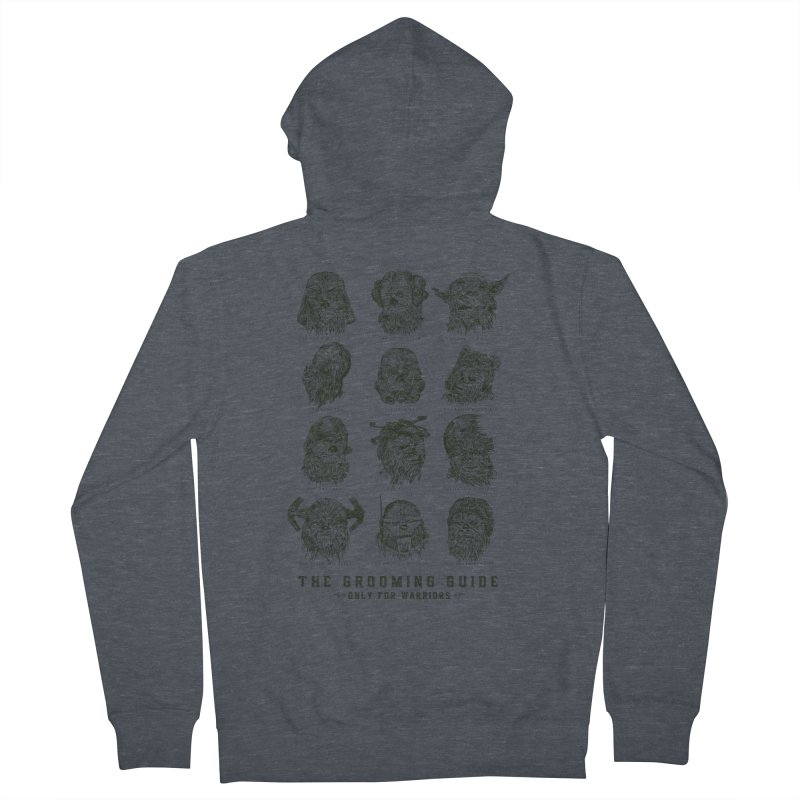 The Grooming Guide Men's French Terry Zip-Up Hoody by Artist Shop