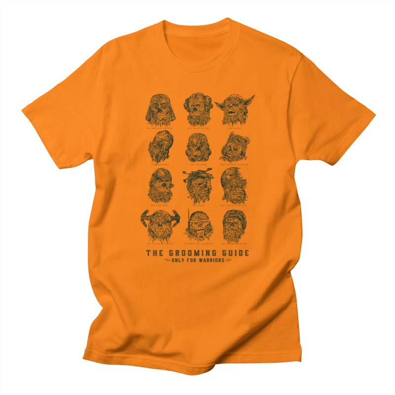 The Grooming Guide Men's T-shirt by Artist Shop