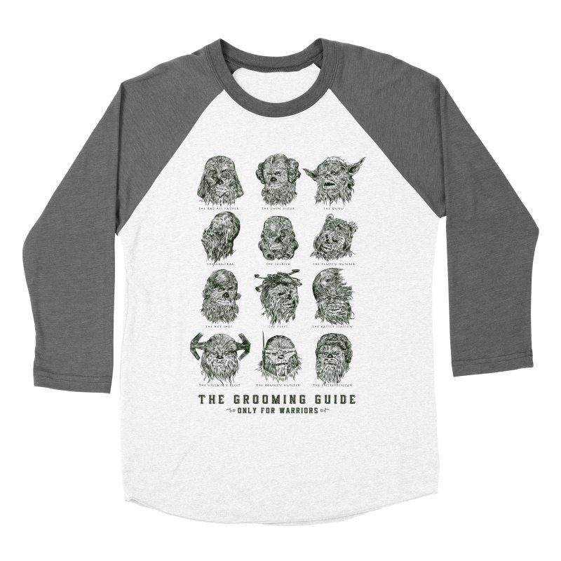 The Grooming Guide Women's Baseball Triblend Longsleeve T-Shirt by Artist Shop