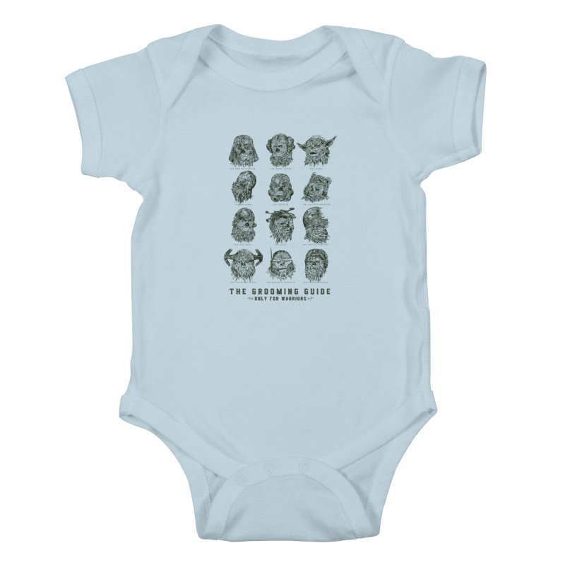 The Grooming Guide Kids Baby Bodysuit by Artist Shop
