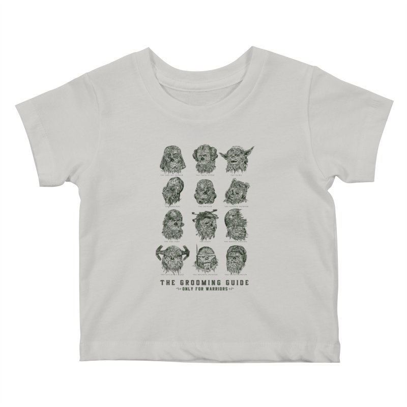 The Grooming Guide Kids Baby T-Shirt by Artist Shop