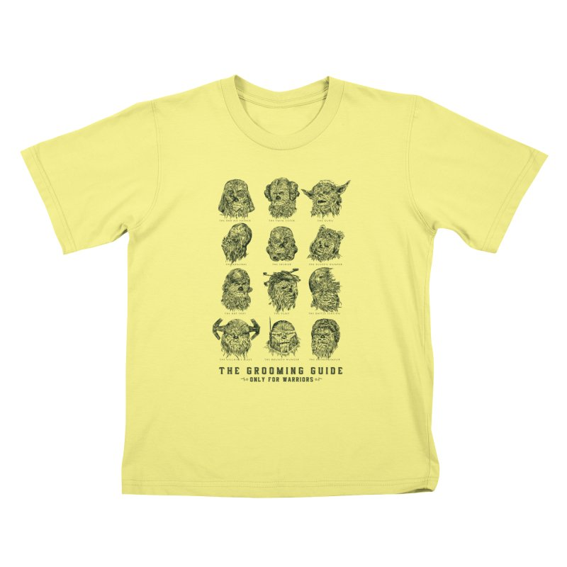 The Grooming Guide Kids T-shirt by Artist Shop