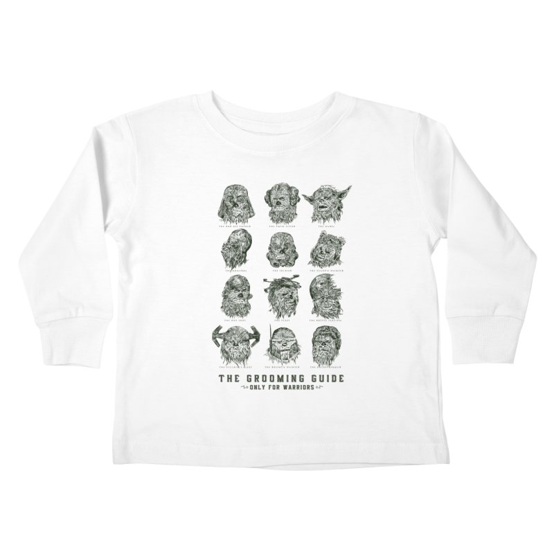 The Grooming Guide Kids Toddler Longsleeve T-Shirt by Artist Shop