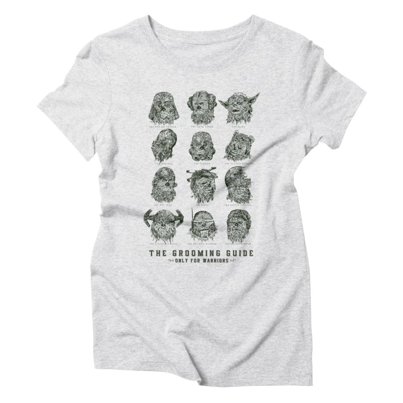 The Grooming Guide Women's Triblend T-Shirt by Artist Shop