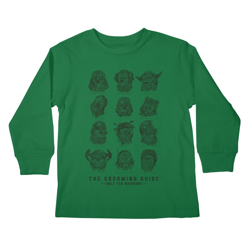 The Grooming Guide Kids Longsleeve T-Shirt by Artist Shop