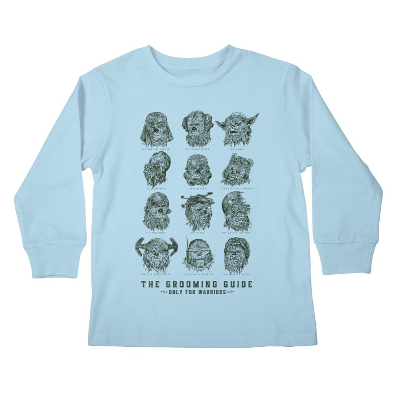 The Grooming Guide Kids Longsleeve T-Shirt by Artist Shop
