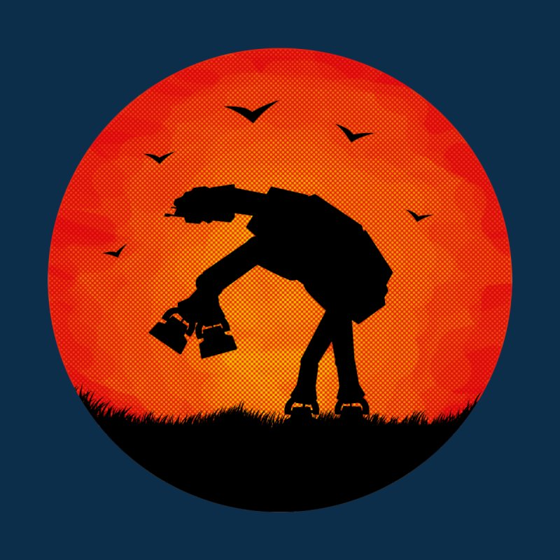 AT-AT sunset   by Bavo's Artist Shop