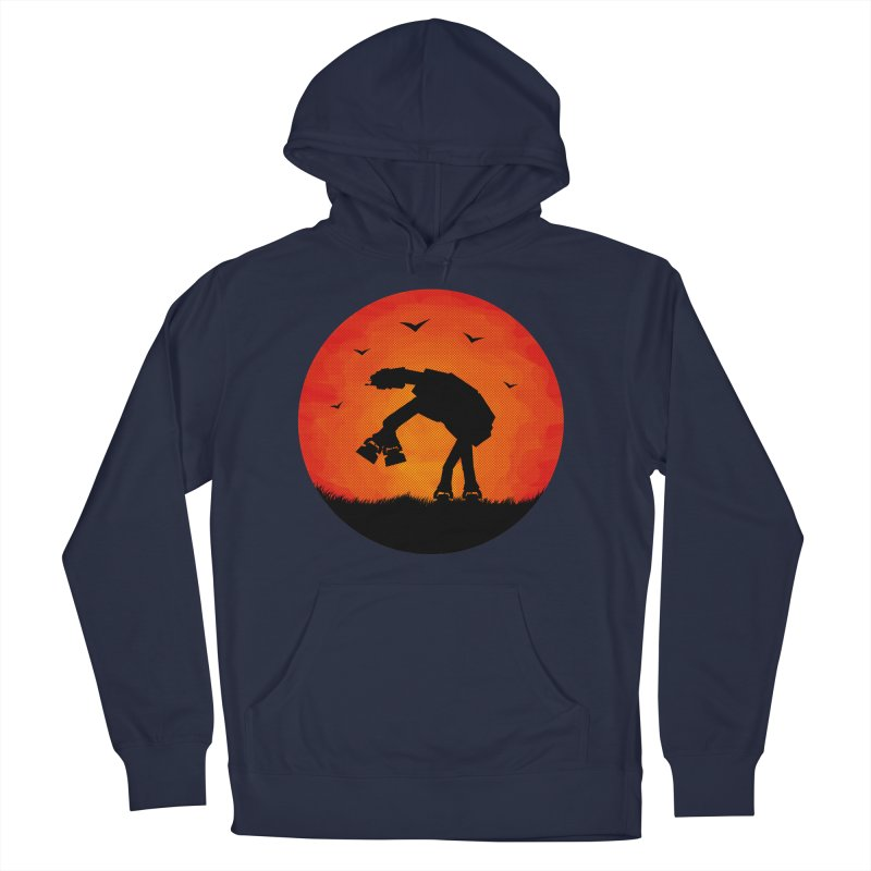 AT-AT sunset Men's Pullover Hoody by Bavo's Artist Shop