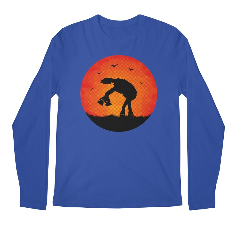 AT-AT sunset Men's Longsleeve T-Shirt by Bavo's Artist Shop