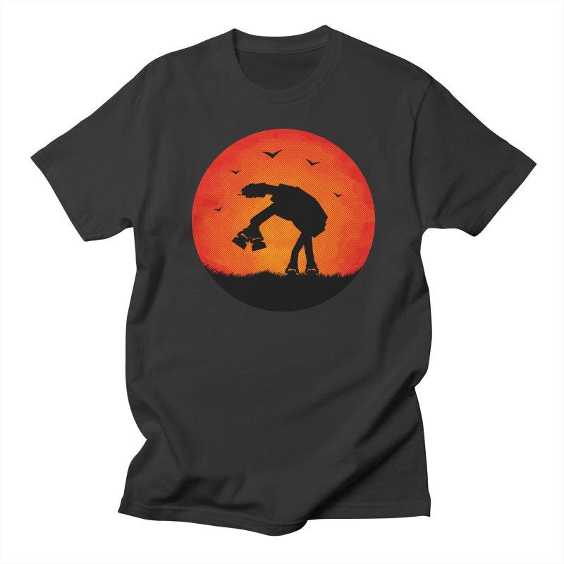 AT-AT sunset Men's T-Shirt by Bavo's Artist Shop