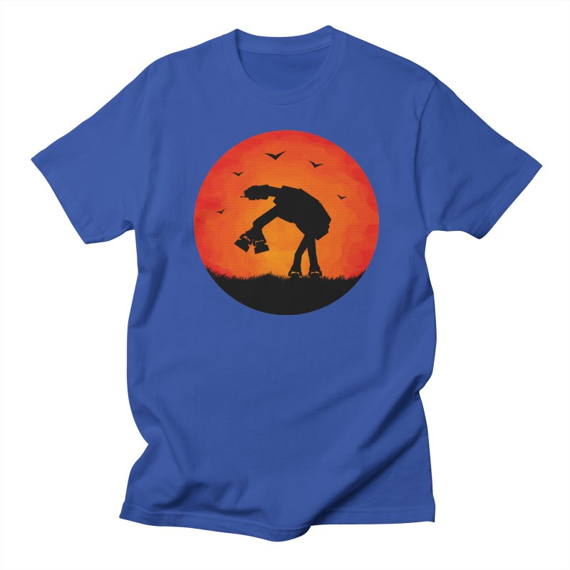 AT-AT sunset Men's T-shirt by Bavo's Artist Shop