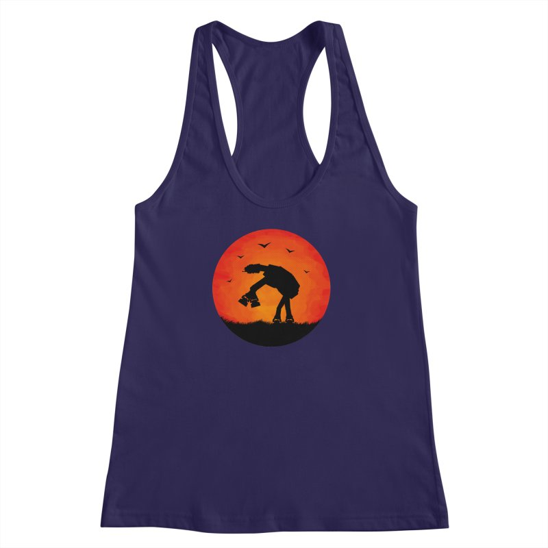 AT-AT sunset Women's Racerback Tank by Bavo's Artist Shop