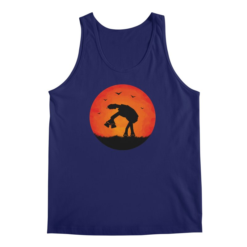 AT-AT sunset Men's Tank by Bavo's Artist Shop