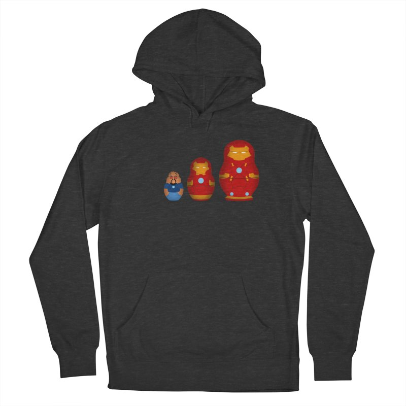 Iron Baboesjka Men's Pullover Hoody by Bavo's Artist Shop