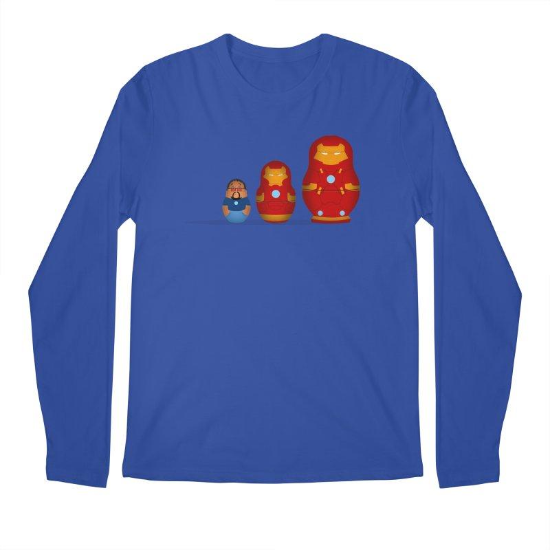 Iron Baboesjka Men's Longsleeve T-Shirt by Bavo's Artist Shop