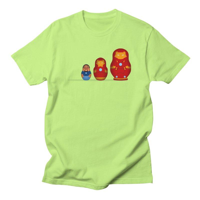 Iron Baboesjka Men's T-Shirt by Bavo's Artist Shop