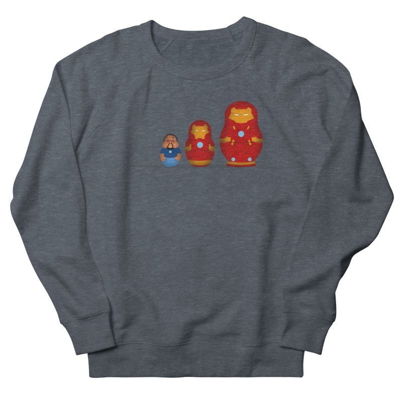 Iron Baboesjka Women's Sweatshirt by Bavo's Artist Shop