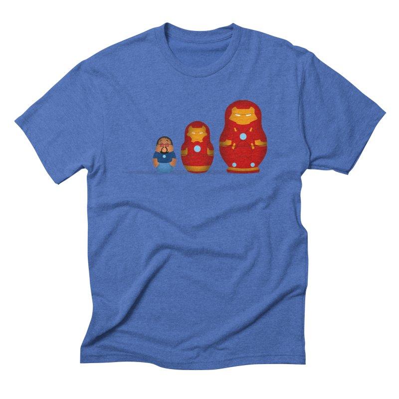 Iron Baboesjka Men's Triblend T-shirt by Bavo's Artist Shop