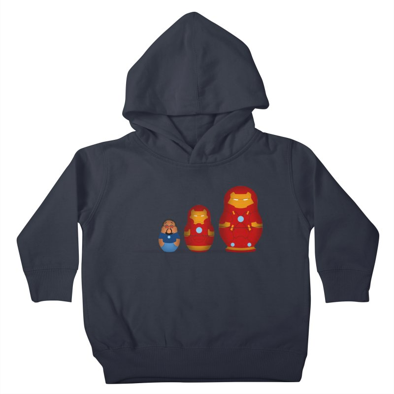 Iron Baboesjka Kids Toddler Pullover Hoody by Bavo's Artist Shop