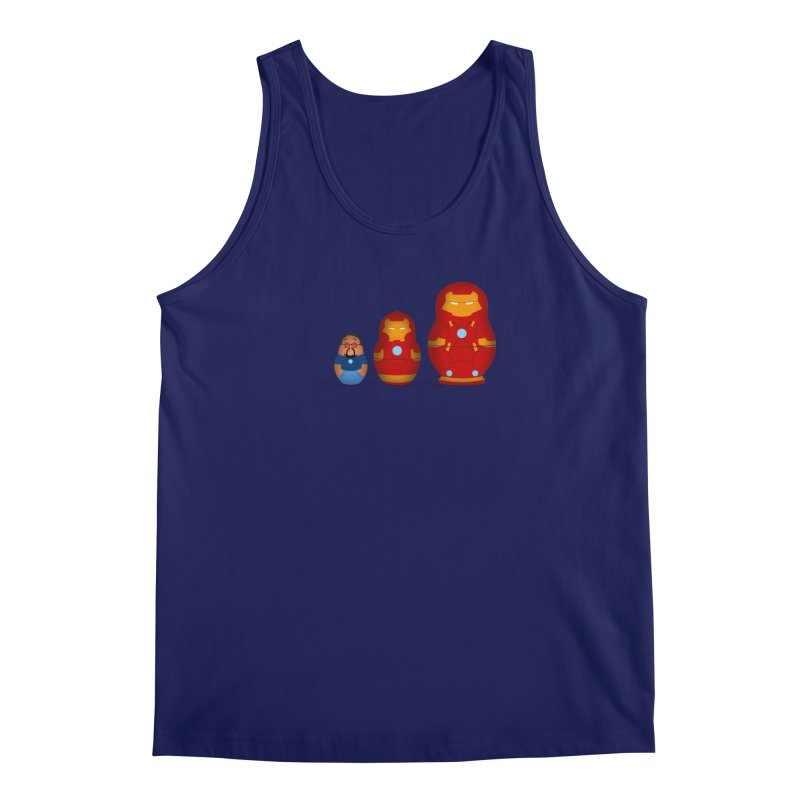 Iron Baboesjka Men's Tank by Bavo's Artist Shop