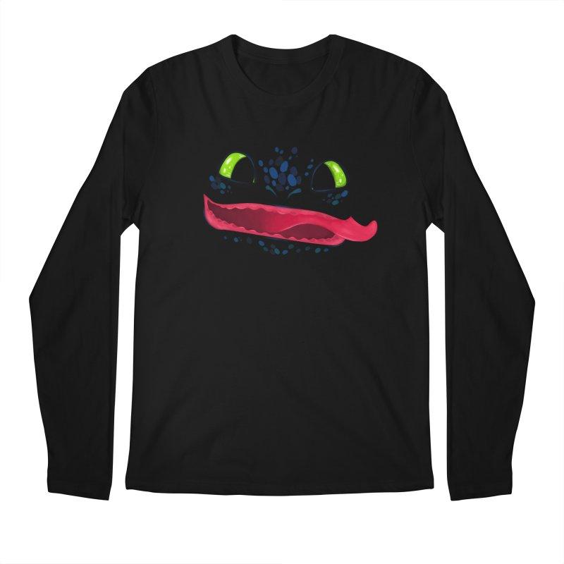 Toothless Men's Longsleeve T-Shirt by Bavo's Artist Shop