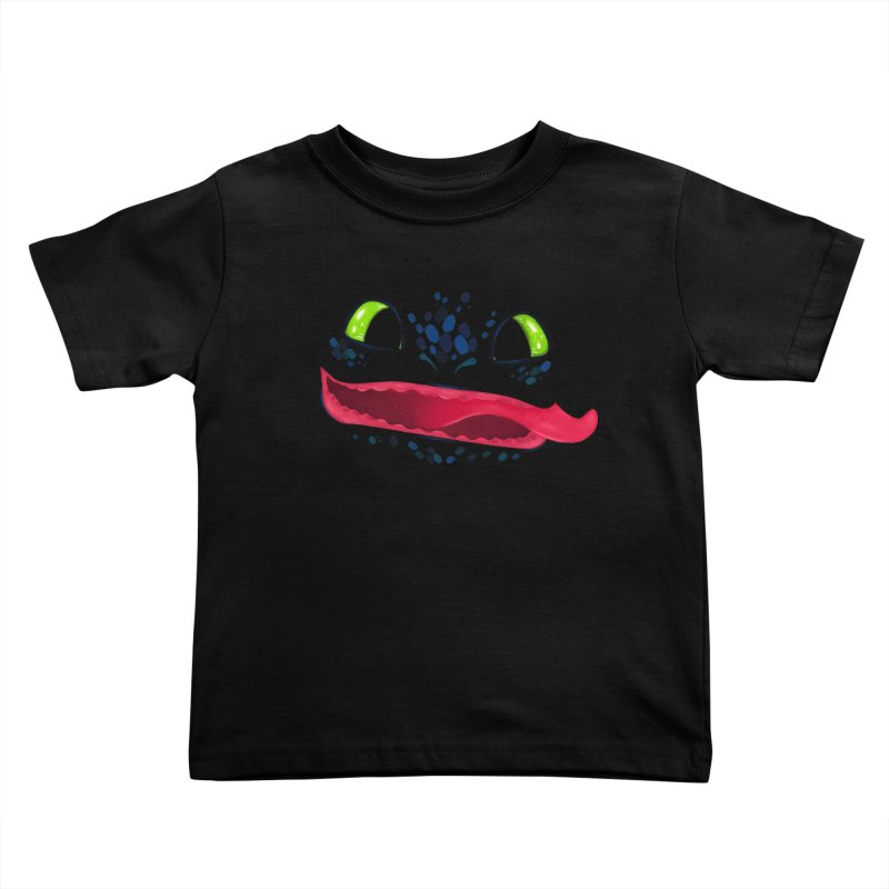 Toothless Kids Toddler T-Shirt by Bavo's Artist Shop
