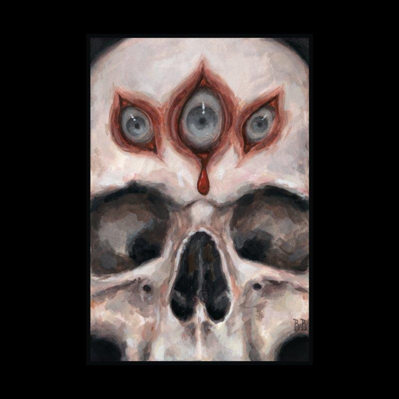 Clairvoyant Skull Men's T-Shirt by BeaBastet