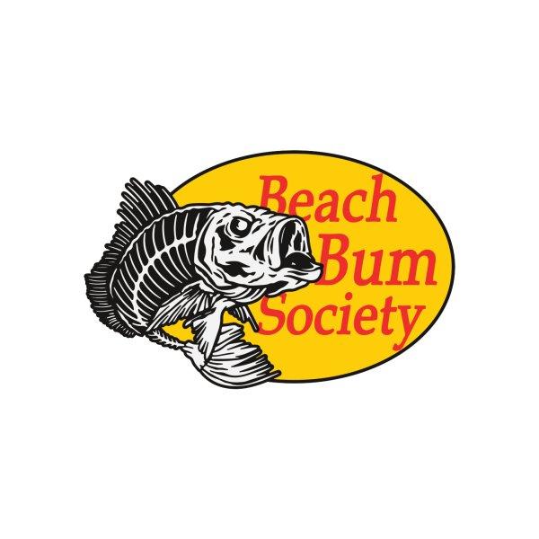 Design for Beach Bum Society- Skelly Fish Design