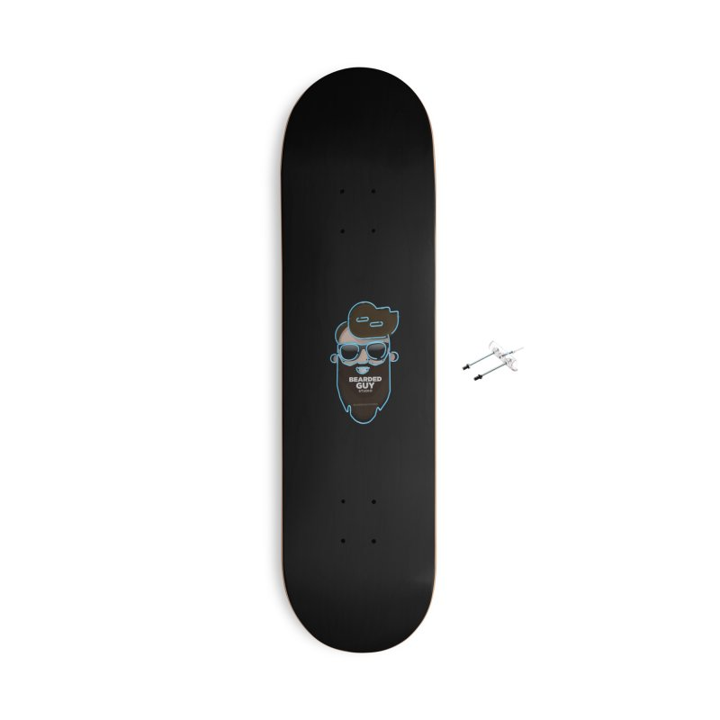 BeardedGuy Accessories With Hanging Hardware Skateboard by Beardedguy's Shop