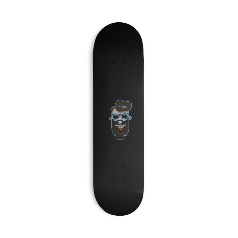 BeardedGuy Accessories Deck Only Skateboard by Beardedguy's Shop